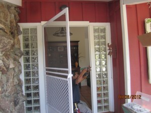 Swinging Screen Doors Topanga