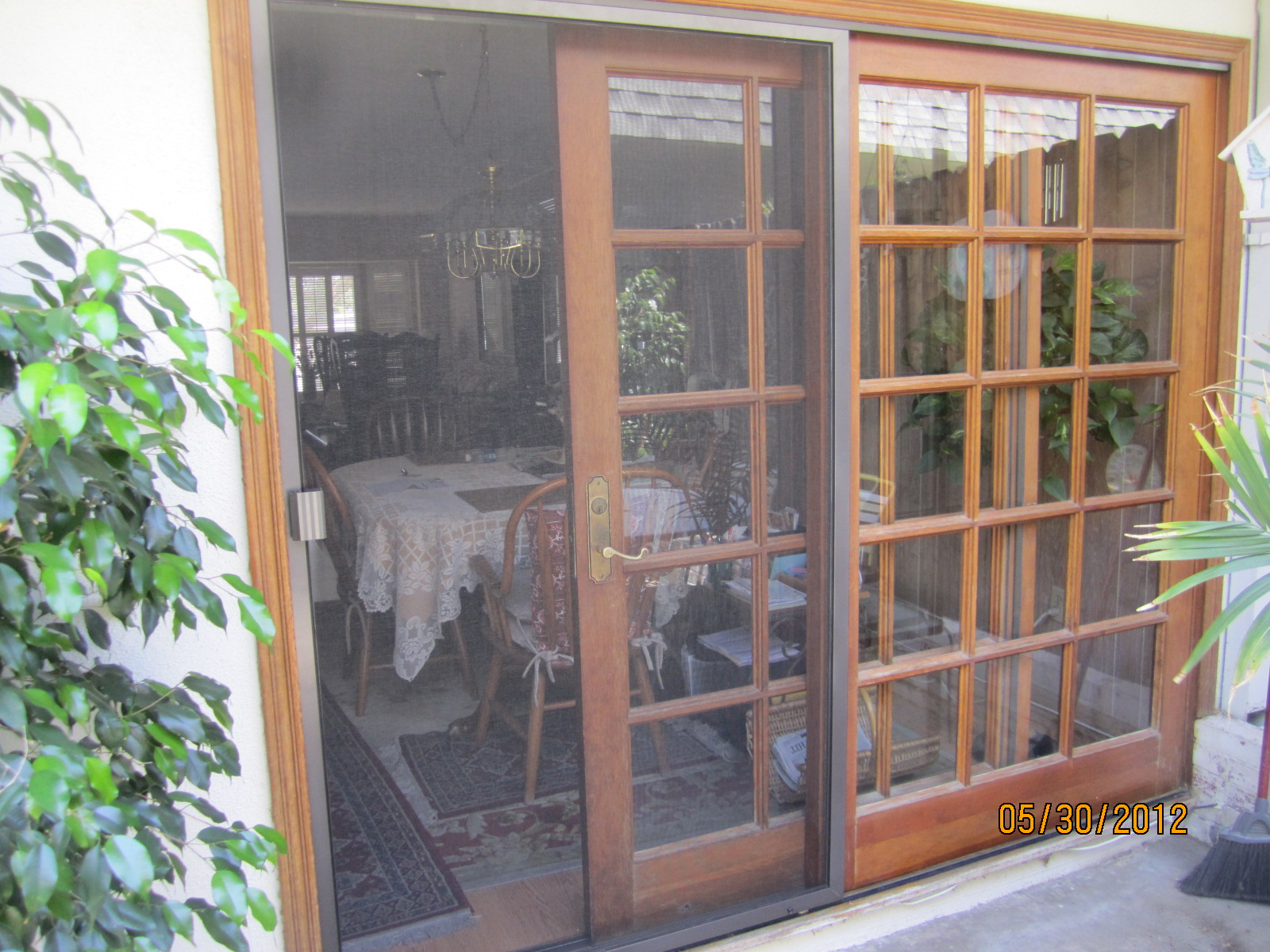 patio screen door in sherman oaks window screens screen doors