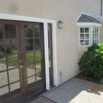 Exterior View Retracted French Doors of Retractable Screen Doors Sherman Oaks