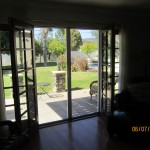 Interior View Double Set of Retractable Screen Doors in Sherman Oaks