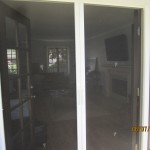 Double Set of Retractable Screen Doors in Sherman Oaks