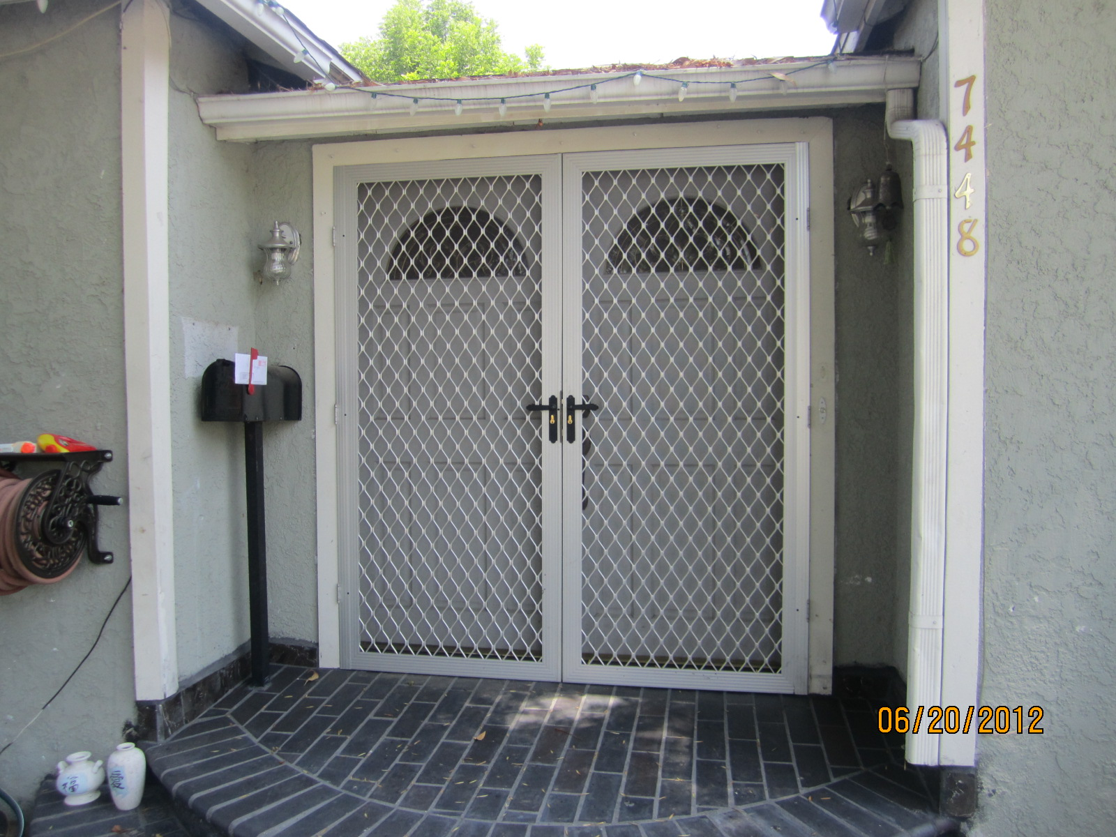 Security screen doors mobile home security screen doors for Security screen doors for french doors