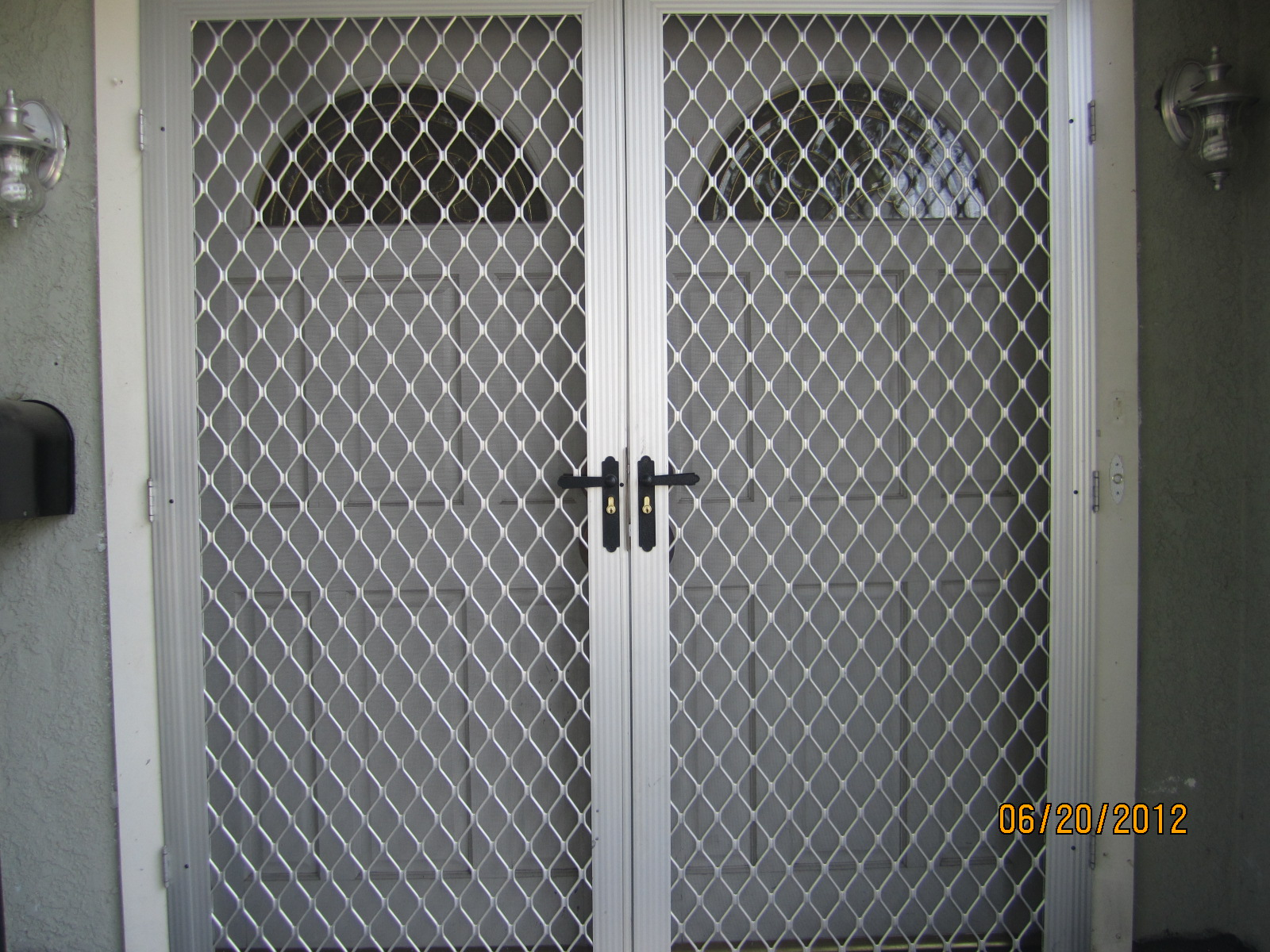 Security screen doors in sherman oaks screen doors for Security screen doors for french doors