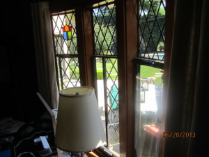 Beverly Hills Retractable Screen Windows in Office