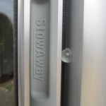 Clear Anodized Retractable Screen Housing and nylon egronomical handle