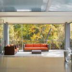 Outdoor view Centor Arquitectural Screens for Bi-folding Doors