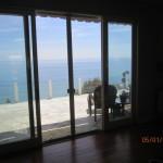 Sliding Patio Screen Doors installed in Malibu Oceanview Home