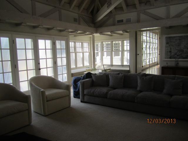 Screens in master Bedroom installed in home in Sherman Oaks