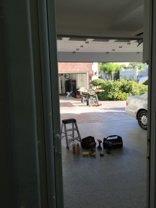 Retractable Screen Door intallation in Tarzana