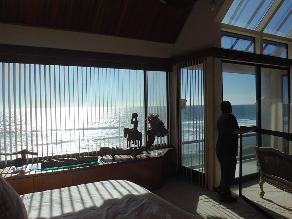 Window Screens in Malibu Home