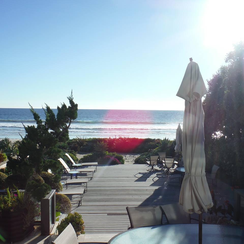 Ocean View of Malibu Home, Installation of Window Screens