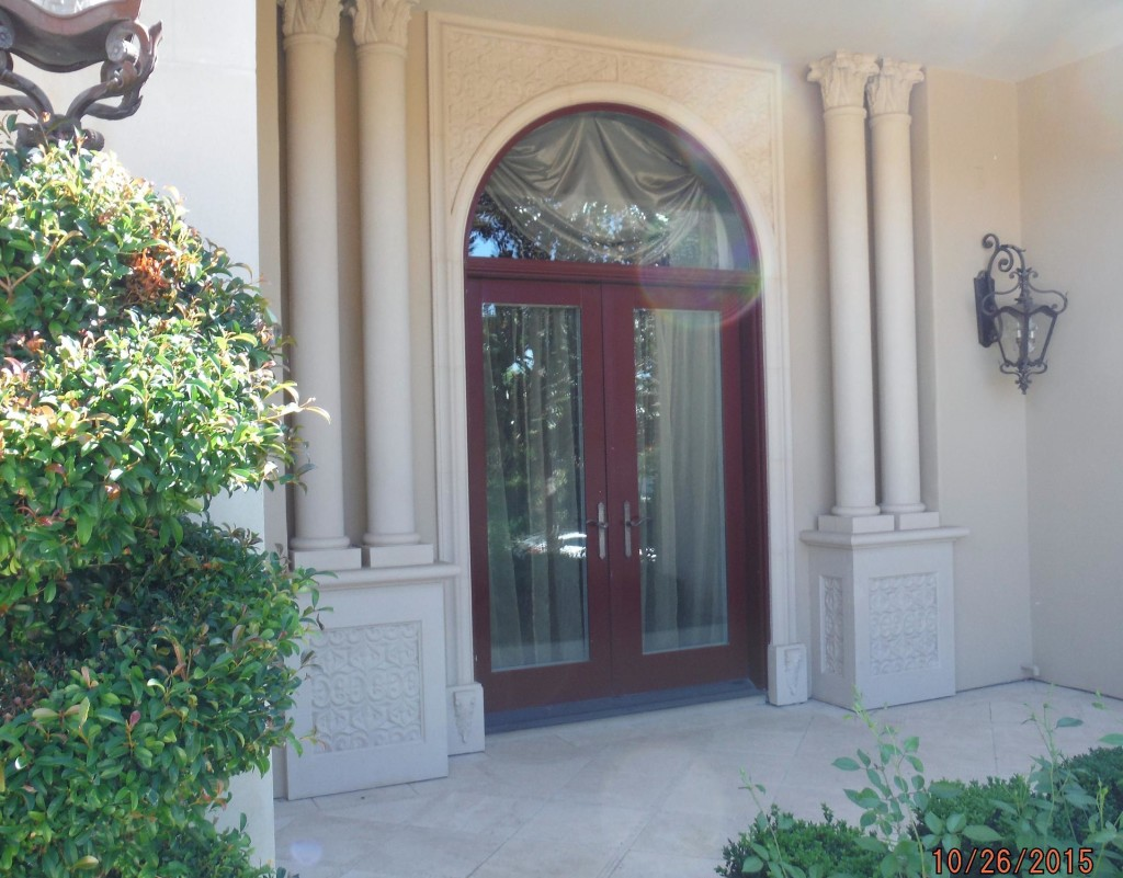 Exterior view of Double Set Retractable Screen Doors in Agoura Hills