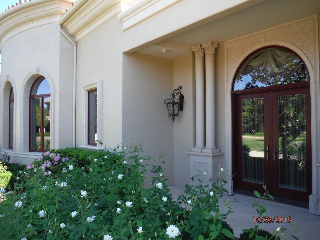 Exterior view of Double Set Retractable Screen Doors in Agoura Hills