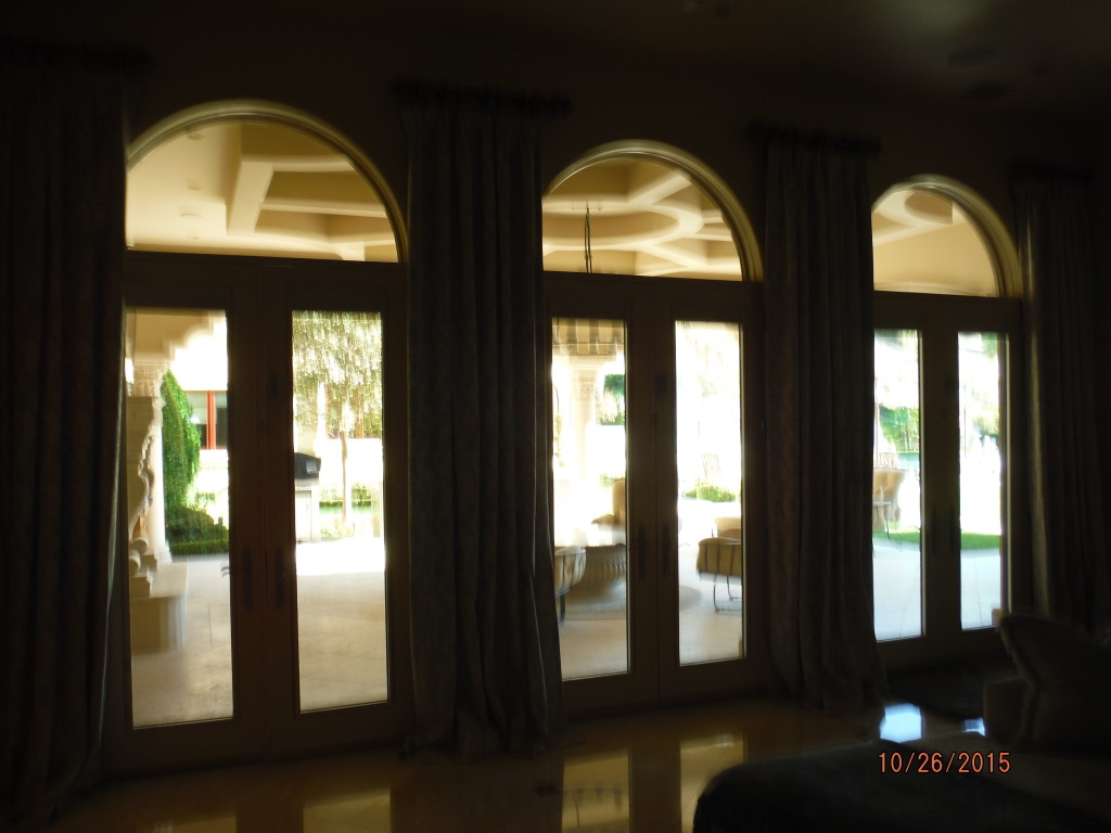 Interior view of Retractable Screen Doors in Agoura Hills