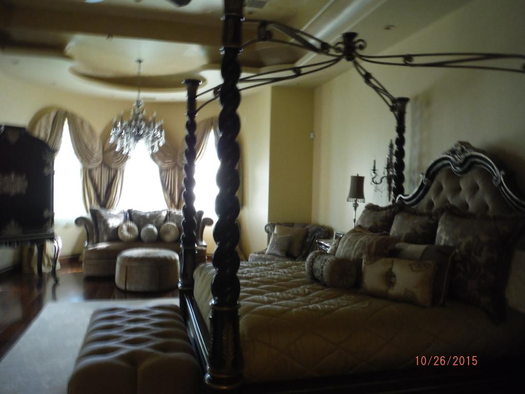 Interior view of installation of Retractable Screen Doors in Agoura Hills
