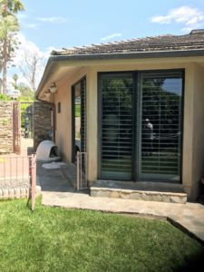 Cliffside, Malibu installation of Retractable Screen Doors