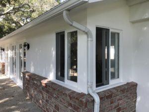White Frames Window Screen Replacement in Malibu