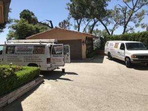 Mobile Screen Service in Studio City installation of Window Screens and Screen Doors