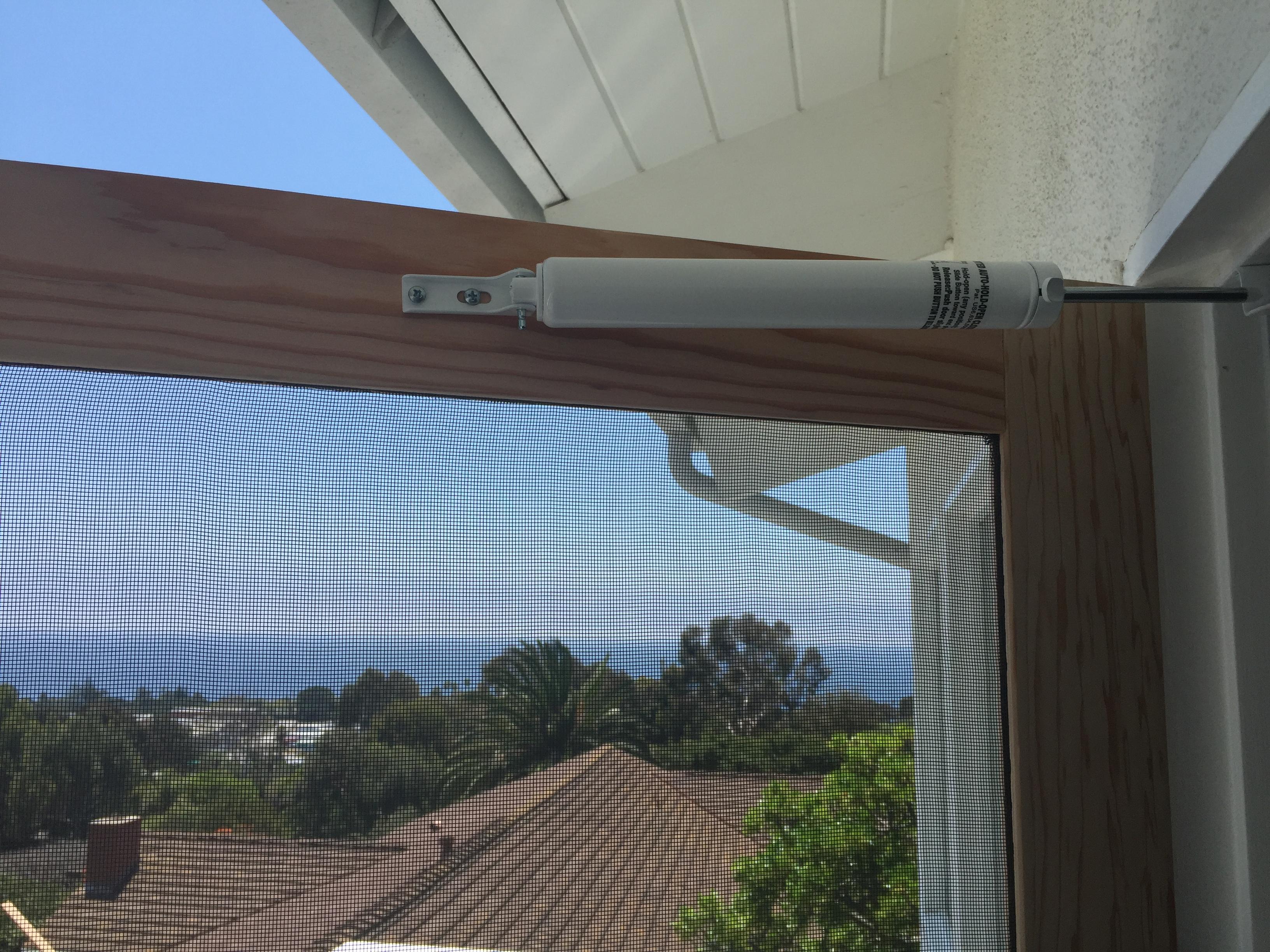 Hydraulic Shock Absorber For Wood Screen Doors Screen