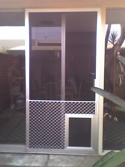 Superguard Grille And A Pet Door Screen Doors Amp Window
